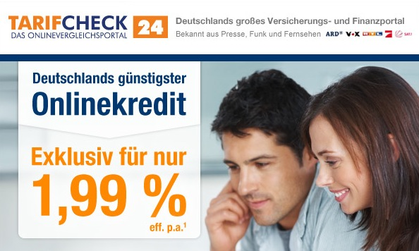 Tarifcheck Kreditvergleich