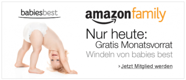 Amazon Gratiswindeln