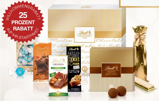 Lindt Schokoladen Club