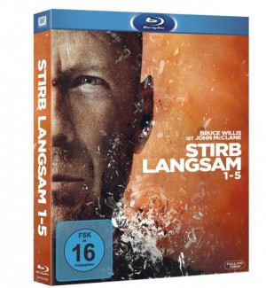 Stirb langsam Blu-ray Kollektion