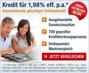 Santander Tarifcheck24 Privatkredit