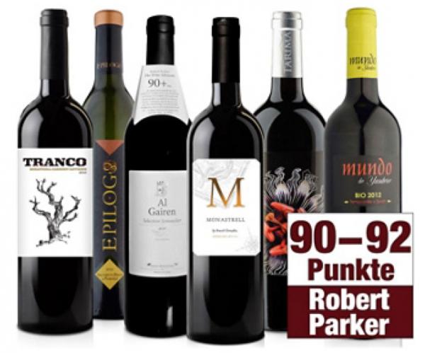 Weinpaket Parker