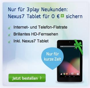 Unitymedia gratis Tablet