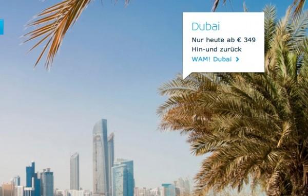 KLM Dubai Flüge
