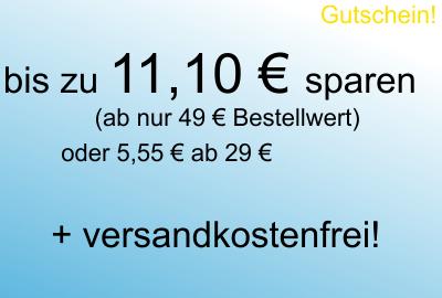 11 € Gutschein