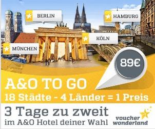 A&O Hotelgutschein