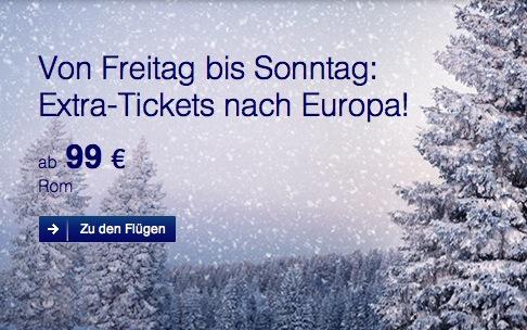 Lufthansa Europa Flüge