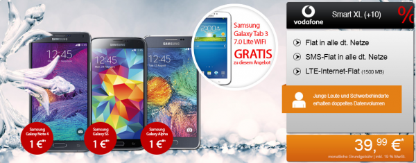 Vodafone Smart XL + Samsung