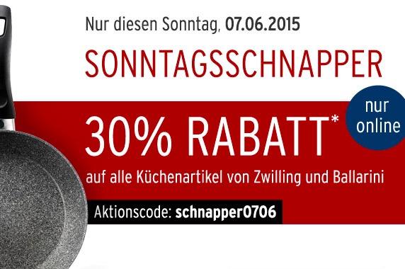Karstadt Sonntagsschnapper