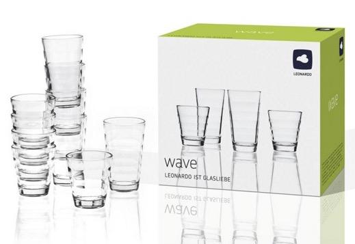Leonardo Wave Gläser