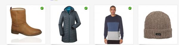 eBay Sale auf Wintermode