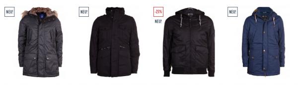 Jeans Direct 25 % Rabatt auf alle Jacken