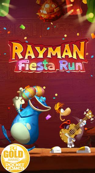 Rayman Fiesta Run kostenlos bei iOS