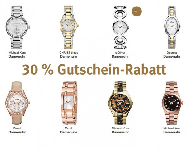 CHRIST 30 % Rabatt auf Armbanduhren