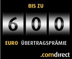 comdirect 600 € Neukunden
