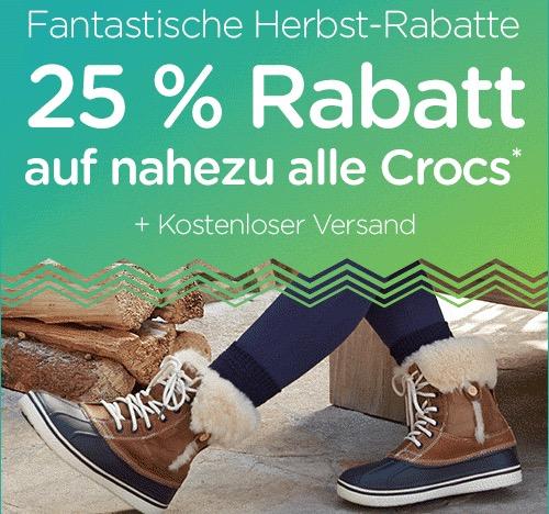 Crocs Rabatt-Aktion