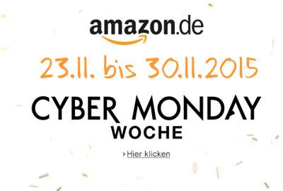 Cyber Monday Woche 2015