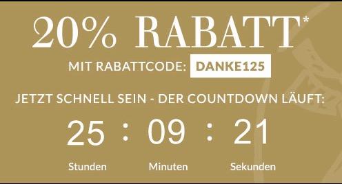 Engelhorn 20 % Gutschein