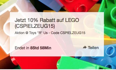 Lego und Duplo mit Rabatt