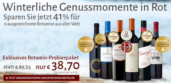 Club of Wine Probierpaket