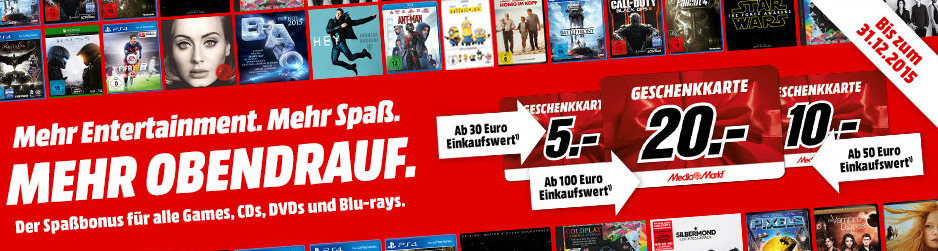 Media Markt Spassbonus