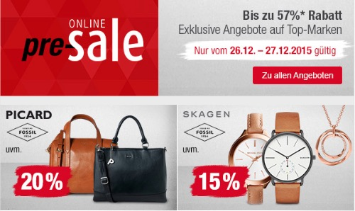Kaufhof Online Pre Sale