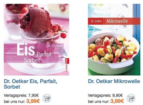 Dr. Oetker Kochbücher