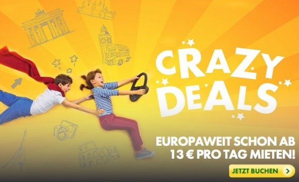 Europcar Crazy Deals