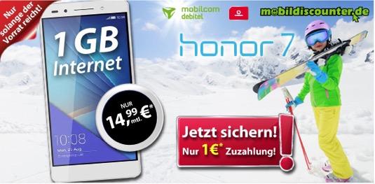 Honor 7 mit Vertrag