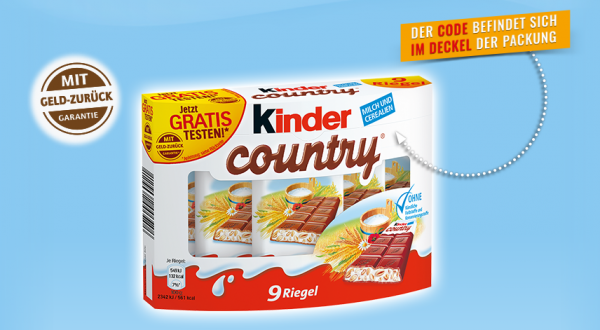 kinder country aktionspackung