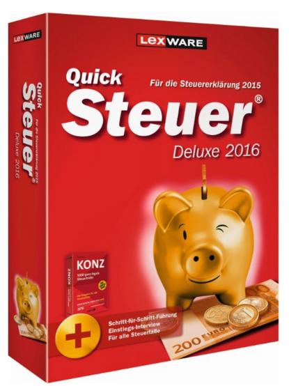 quick steuer deluxe 2016