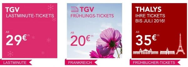 TGV Tickets