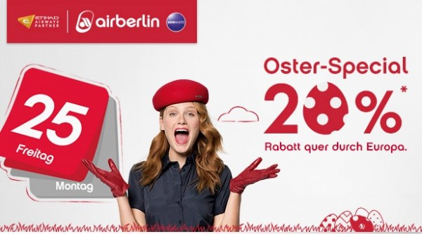 Airberlin Oster Special