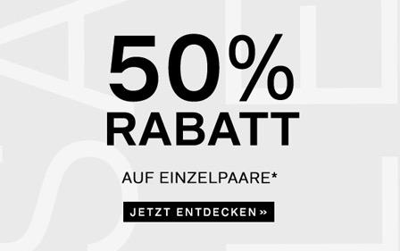 Deichmann 50 %