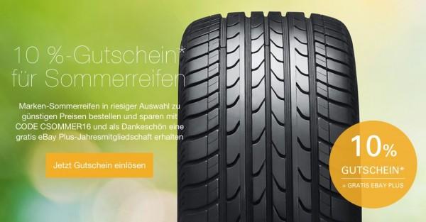 eBay Reifen Gutschein