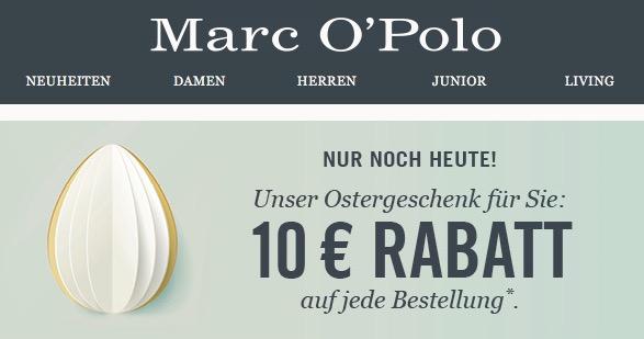 Marc O'Polo 10 € Gutschein