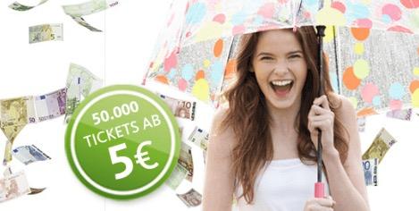 Postbus 5  € Tickets