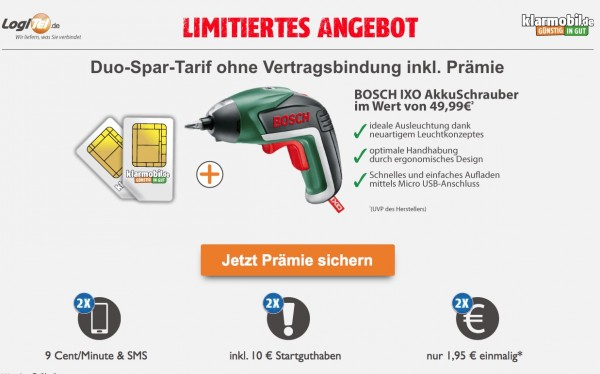 Logitel Bosch IXO