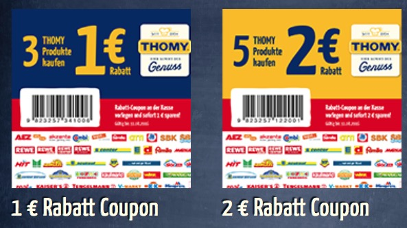 Thomy Coupon