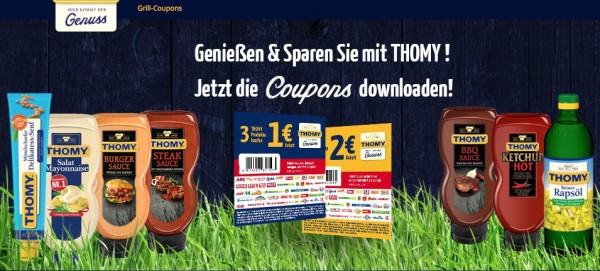 Thomy Coupon Grillsaucen