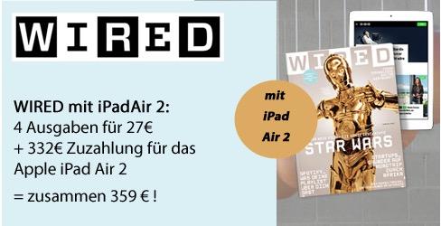 Wired iPad Air 2
