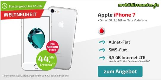 iPhone 7 Angebot