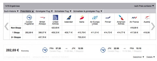 Flugpreis