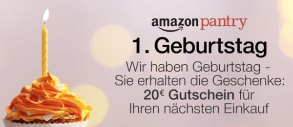 Amazon Pantry 20 €