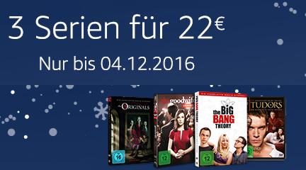 3 TV Serien 22 €