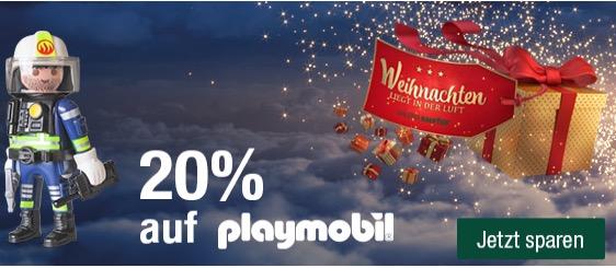 Playmobil 20 %