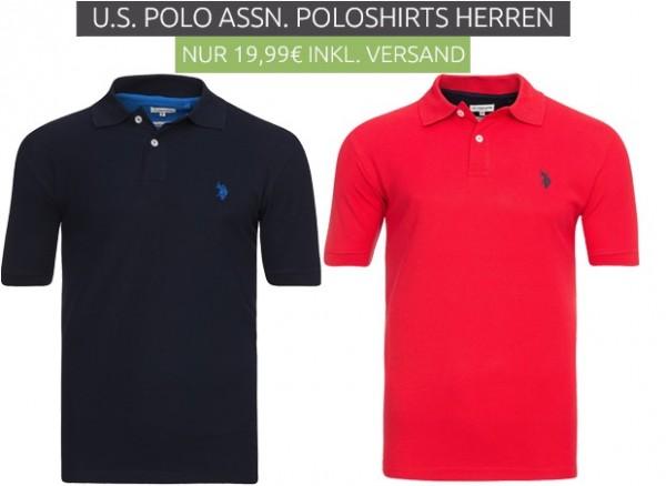 US Polo As. Poloshirts