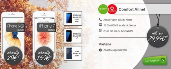 Vodafone Allnet Smartphone