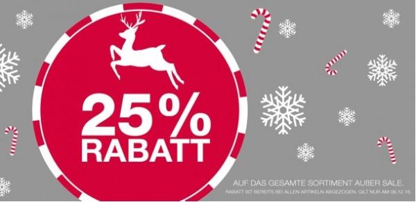 FILA 25 % Rabatt