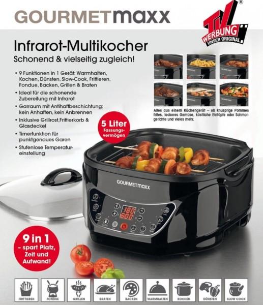 Gourmetmaxx Infrarot-Kocher